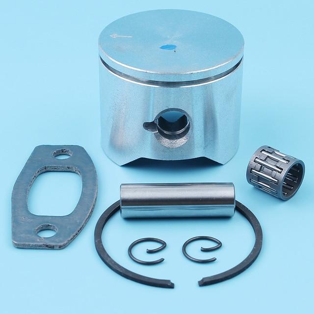 45mm Piston Ring Pin Needle Bearing Kit For Husqvarna 51 55 50 EPA Chainsaw 503 16 77-01 503504402 Muffler Exhaust Gasket