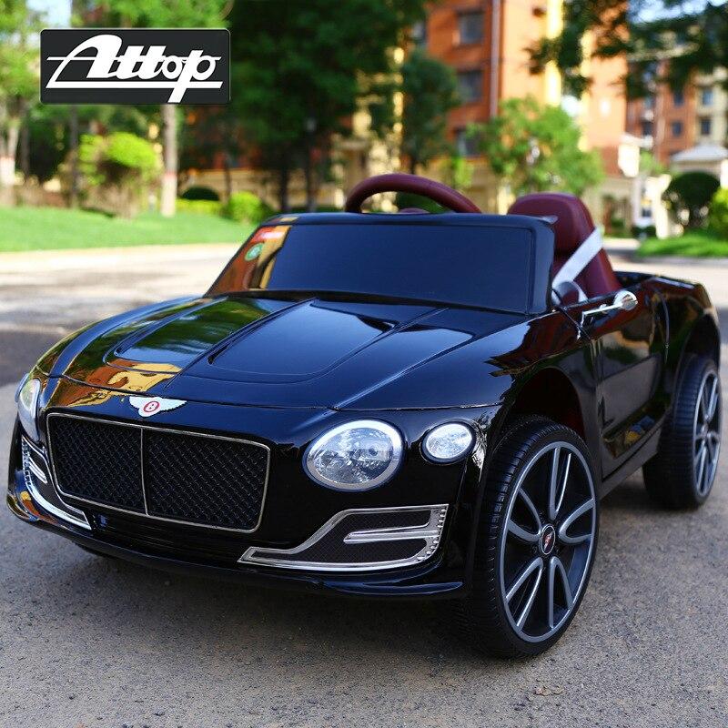 Tour extérieur de luxe rechargeable sur voiture enfants voiture électrique quatre roues voiture télécommande jouet voiture peut s'asseoir bébé balançoire poussette