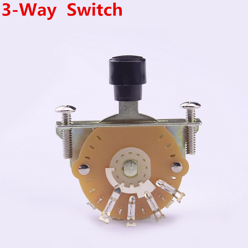 1 Piece GuitarFamily 3-Way Electric Guitar Pickup Selector Switch Pickups Switch ( #0827 ) MADE IN KOREA 1 set guitarfamily alnico pickup for casino jazz guitar nickel cover made in korea