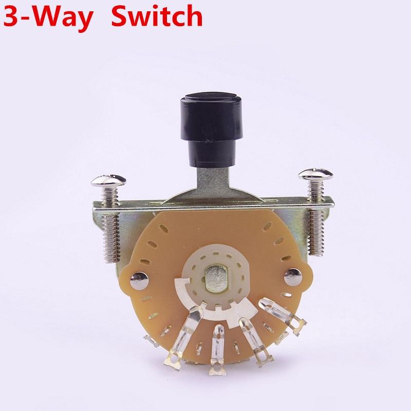 1 Piece GuitarFamily OAK 3-Way Electric Guitar Pickup Selector Switch Pickups Switch ( #0827 ) MADE IN KOREA