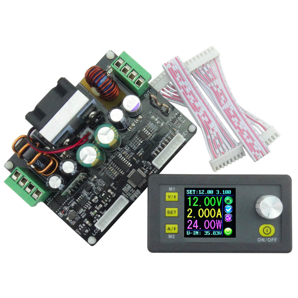 DPH3205 Buck-boost Converter Constant Voltage Current Programmable Digital Control Power Supply Module Color LCD Voltmeter 0-32V dc dc automatic buck boost constant voltage constant current module blue 5a