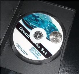 Rêve Coin Set (DVD + Gimmick)-Des Tours de Magie, Jouet Classique, accessoires de magie pour magiciens, spectacle de magie kit, accessoires de magie pour la scène