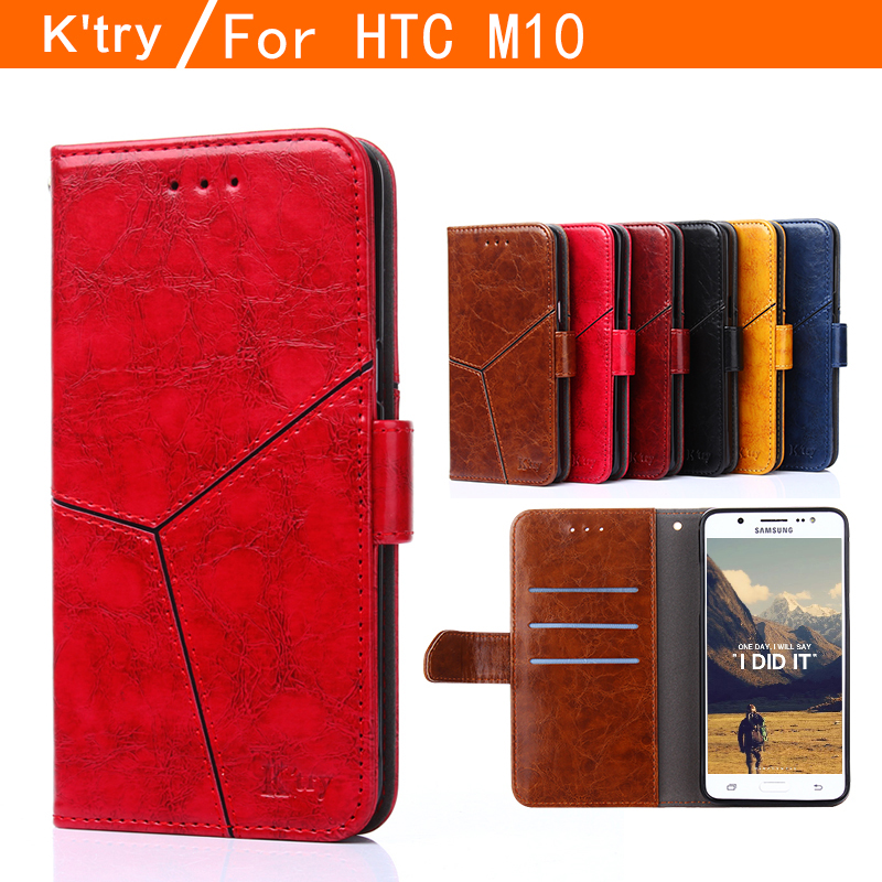 High Quality Luxury Leather Phone Case For HTC M10 Flip Cover Wallet Case Card Holder For HTC 10 2016 Case M10 5.2''