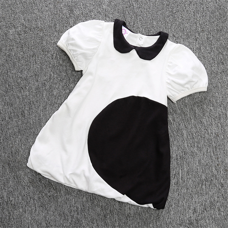 Summer Baby Girl Clothes Cotton Baby Girl Dress Kid Dress Casual Fashion Baby Dress Roupas Bebe Lovely Children Clothing