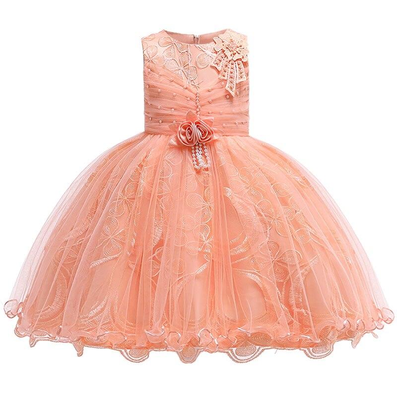 Flower Girl Dresses First Communion Dresses For Girls Pageant Dresses For Kids Children's Clothing Baby Elegant Tutu Costume