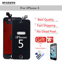 LCD Display Digitizer For IPhone 5 5c 5s SE Touch Screen LCDs Replacement Assembly Parts Black