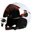 LUNA Occhiali da Sci Sci Casco CE Certificazione di Sicurezza Casco Da Sci Con Occhiali Pattinaggio di Skateboard Sci Snowboard Casco PC + EPS - 1