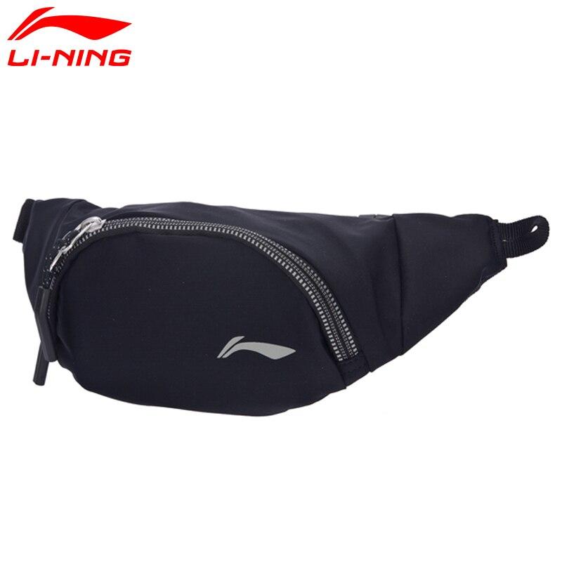 Prix pour Li-ning unisexe de course waistpack polyester réfléchissant hommes & femmes lining sport waistpack sac ablm016 bjy034