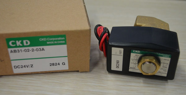 CKD solenoid valve AB31-02-2-03A-DC24V Direct acting 2 port solenoid valve (general purpose valve)