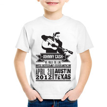 Johnny Cash Children T-shirts Boys/Girls