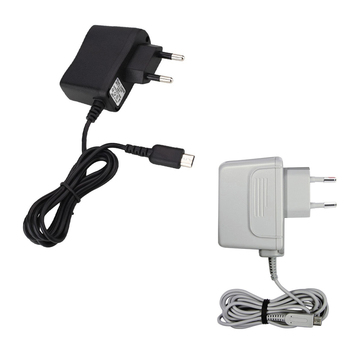 50PCS Console adapter charger EU Plug Charger Cable AC Adapter Power Supply for Nintendo NDSL AC fire ox power adapter
