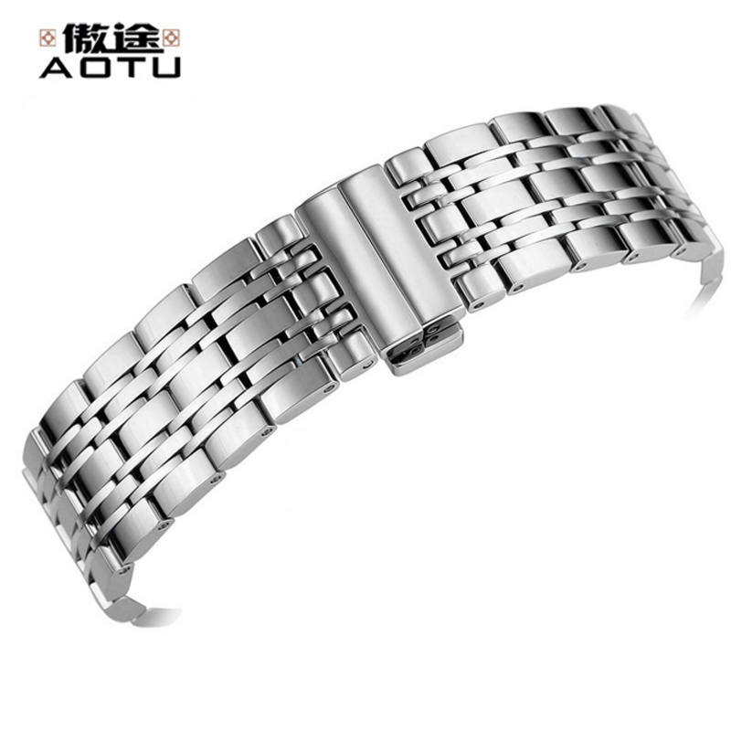Stainless Steel Watch Band For Tissot 1853 T085 427 410 Watches Strap Ladies Bracelet Belt Top Quality Watchbands For Men Watch 20mm men s canvas watchbands for tissot t095 10 colors watch strap for male nylon watch band for t095 bracelet belt watchstrap