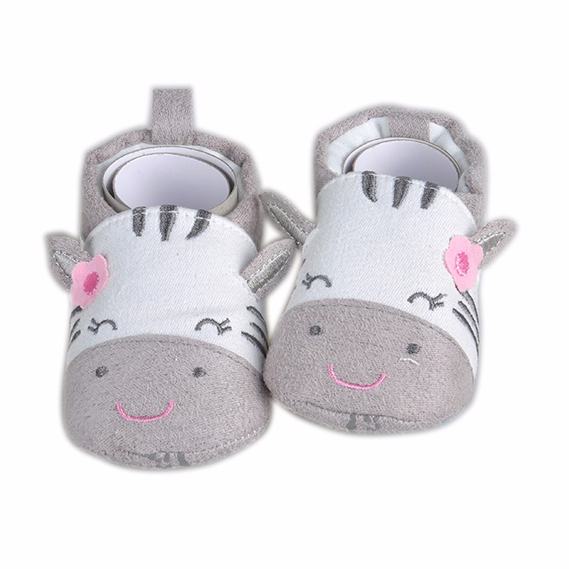 2016 Newy Style Soft Cartoon Baby Boys Girls Infant Shoes Slippers 0-6 6-12 First Walkers Cotton Skid-Proof Kids Baby Shoes (5)