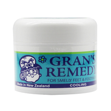 NewZealand Gran's Remedy Cooling Foot Care Odour Control Powder Smelly Feet FOOT