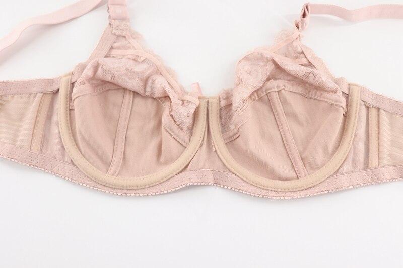 Soutien-Gorge Bra Blanc Taille Unique S-M Open ouverte Sheer Unisexe Brillant Transparent Mariage