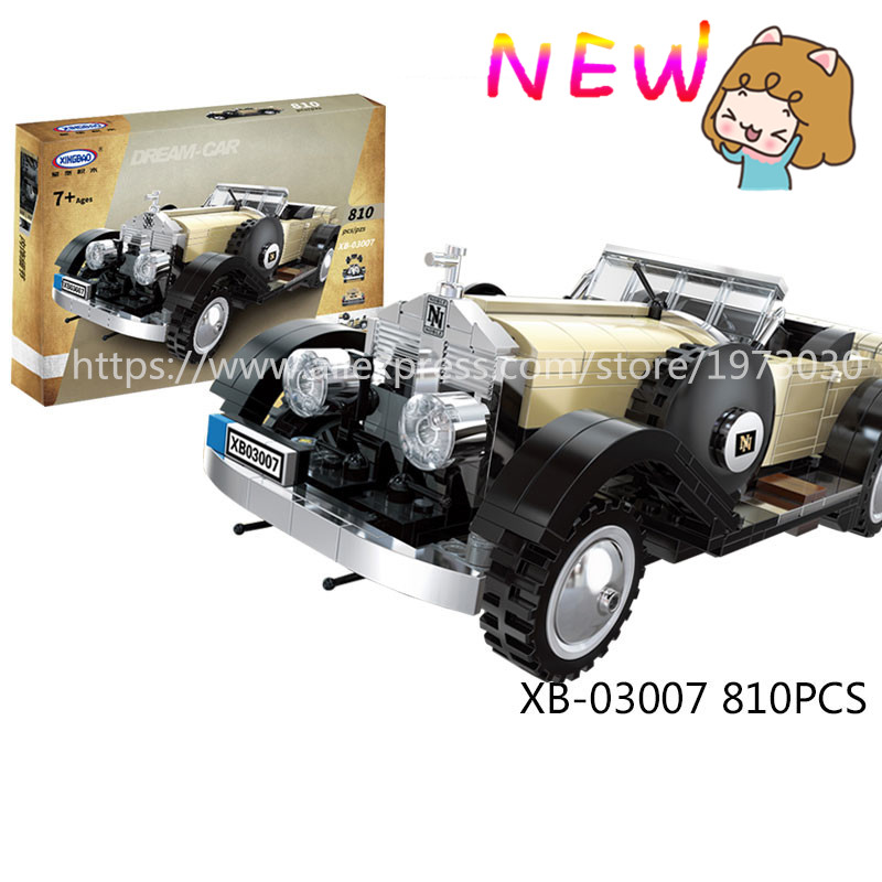 Model building kits compatible with lego Rolls-Royce Noble 3D blocks Educational model building toys hobbies for children lepin 02012 city deepwater exploration vessel 60095 building blocks policeman toys children compatible with lego gift kid sets