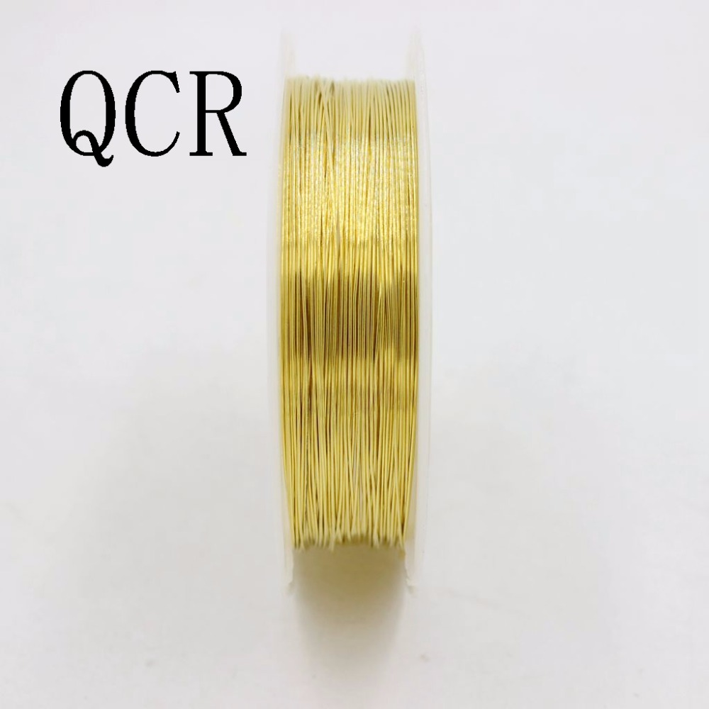 New Alloy Craft gold plated Necklace copper wire Jewelry Making Cord String
