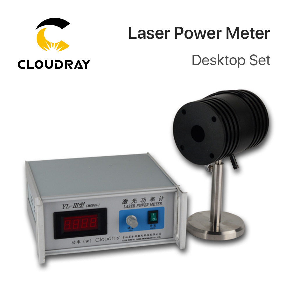 Cloudray Desktop Laser Power Meter 0-200W YL-S-III For Laser Engraving and Cutting Machine laser fce teacher s book