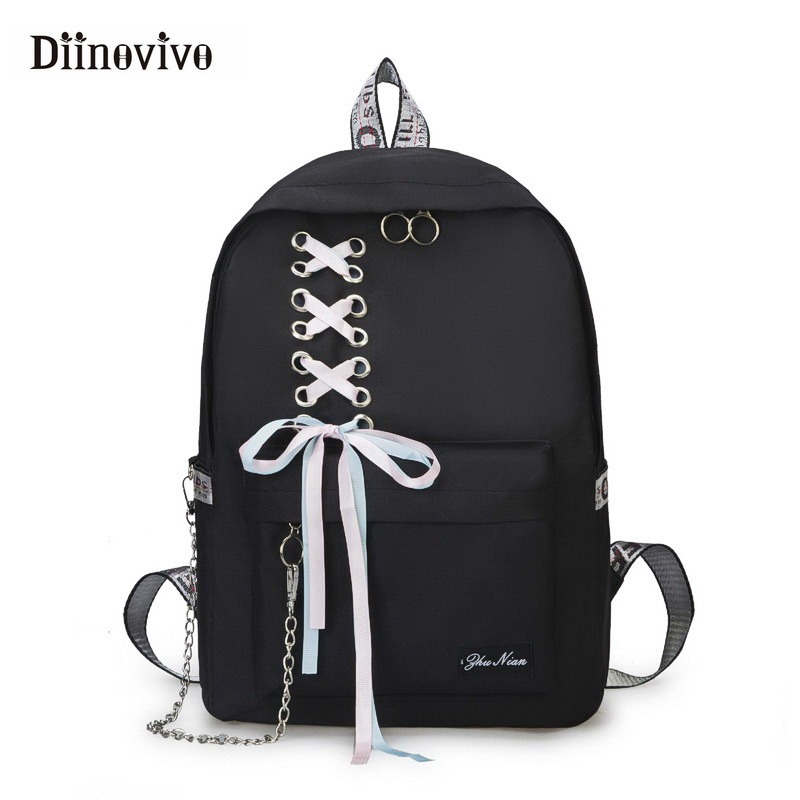 DIINOVIVO Fashion Big Capacity School Bag Laptop