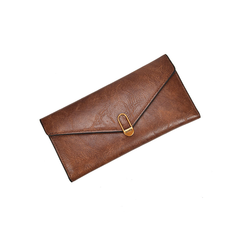 HH Casual Women Läder Plånbok Mynt Ficka Card Holder Lady Väskor - Plånböcker - Foto 3