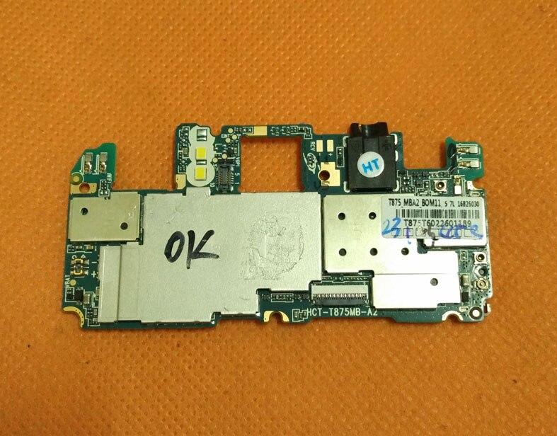 Utilisé carte mère D'origine 2G RAM + 16G ROM Carte Mère pour Oukitel K10000 5.5 pouces MT6735 Quad Core HD 1280x720 Livraison gratuite