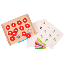 Baby Wooden Toys Math Toy Learning And Educational Memory Game Early Childhood Education Toys And Travel Toys For Kids toys for children mini basketball shooting board game learning education math toys marble game plastic sensory toys