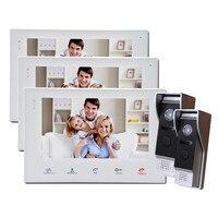 Homefong 7インチビデオインターホンシステムタッチスクリーン有線ビデオドア電話で画像/写真/ビデオ録画sdカードサポー