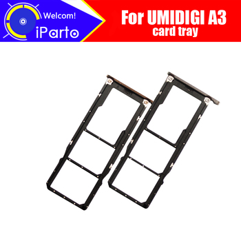 UMIDIGI A3 Card Tray 100% Original New High Quality SIM Card Tray Sim Card Slot Holder Repalcement for UMIDIGI A3
