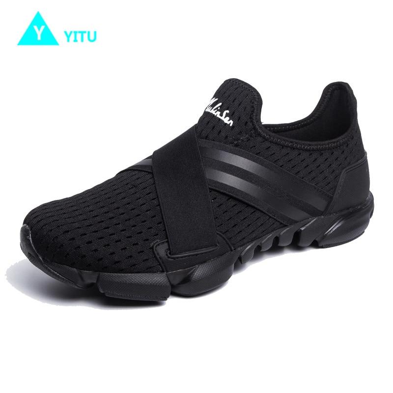 YITU Hardloopschoenen voor heren Buitensportschoenen Ademend - Sportschoenen