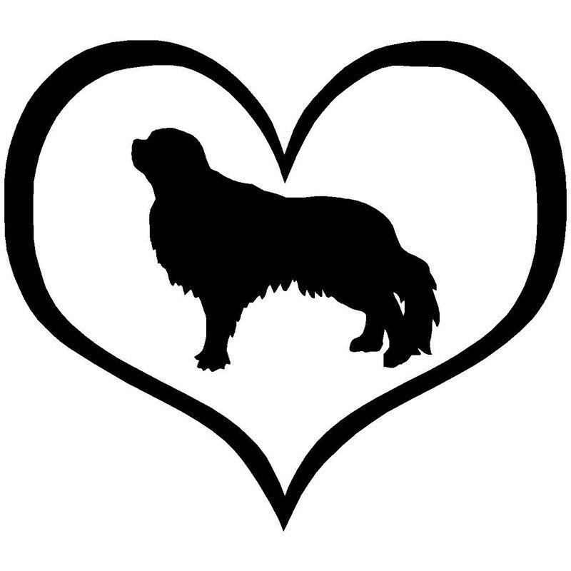 10.9*9.5 Cm Engels Speelgoed Spaniel Hond Auto Raamstickers Personalitt Vinyl Decal Auto Styling Accessoires Zwart/zilver S1-0747 Betrouwbare Prestaties