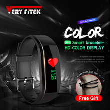 VERYFiTEK UPX Smart Bracelet Color Screen Multi Language Smart Band Heart Rate Monitor Blood Pressure Fitness Tracker Wristband