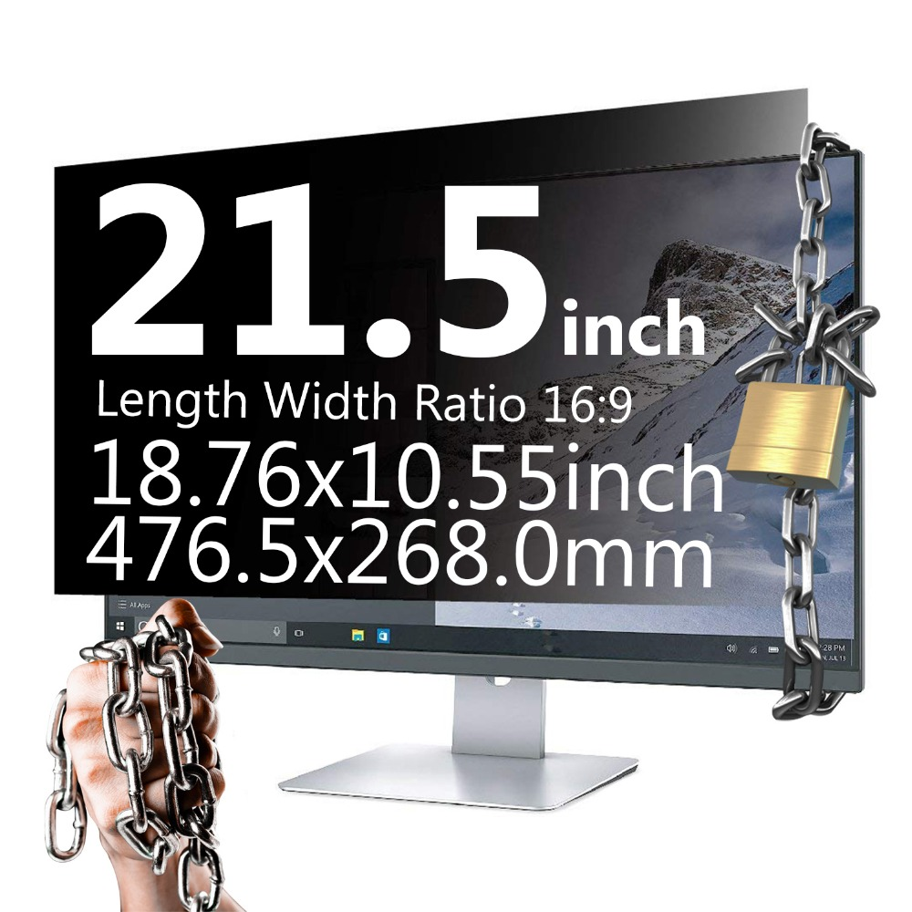 21.5 Inch 16: 9 Widescreen Privacy Filter Privacy Screen Privacy Screen Film Privacy Screen Protector for iMAC MAC недорого