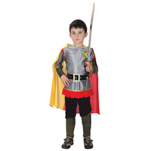 Kids Child Brave Loyal Knight Costume Roman Warrior Prince Costumes for Boys Carnival Purim Halloween Cosplay цены