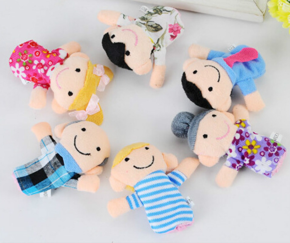 1Pcs-Family-Finger-Puppet-Cloth-Doll-Baby-Educational-Hand-Toy-Story-Funny-Kids-Doll-Toy-5