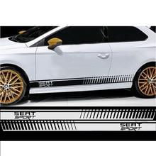 Автомобиль для RS195 SEAT FR гоночные полосы IBIZA LEON ATECA графические наклейки Стикеры автомобильные наклейки