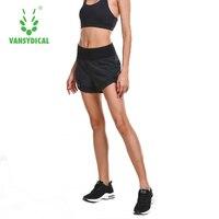 Vansydical Harem Shorts Women Black High Waist Loose Casua Streetwear Shorts Fashion Bottom Summer Short with Pocket