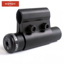 WIPSON открытый охотничий тактический Красный точечный лазерный прицел с креплением для Пикатинни и винтовки охотничья оптика