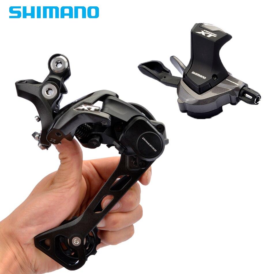 Kit d'alimentation Shimano Deore XT M8000 Antrieb Gruppe 11-fach GS Schaltwerk manette de vitesse 40 T 42 T 46 T Kassette 701 kette Gruppe s