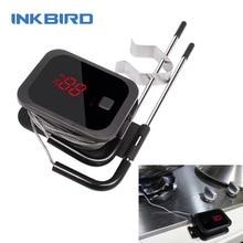 Inkbird Thermometer Voedsel Koken Bluetooth Draadloze Bbq Thermometer IBT 2X Met Dubbele Probes En Timer Voor Oven Vlees Grill Bbq