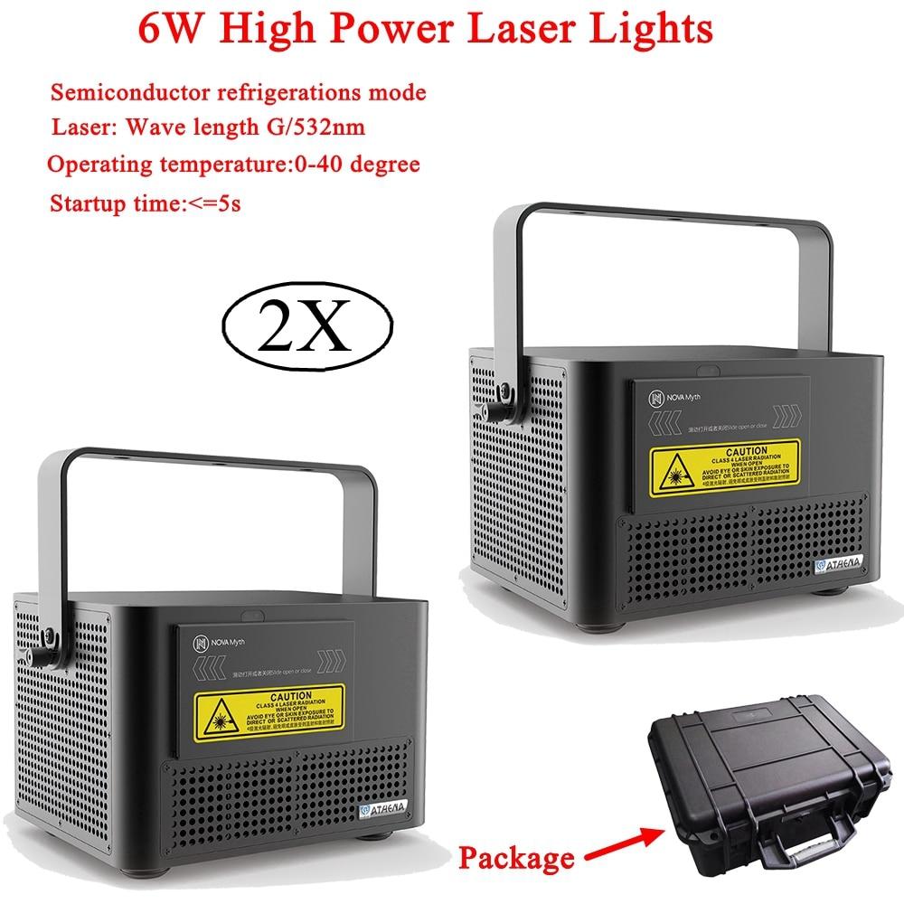 2 шт./лот RGB лазерный линейный сканер сценический светильник высокой мощности 6 Вт световые эффекты DJ танцевальный бар рождественские вечерн
