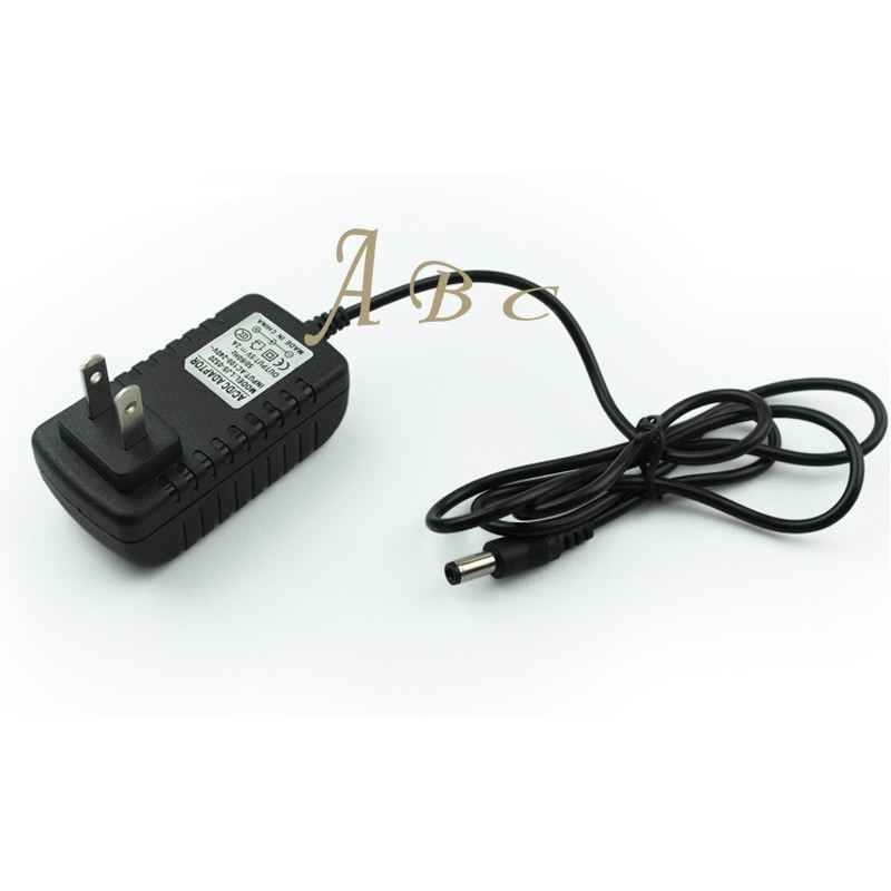 Fit SC24W-1202000U AC 100-240V Input to 12V DC,2A Output VSDISPLAY Power Adapter Fit for Many Types of VSDISPLAY LCD Controller Board US Plug Power Supply