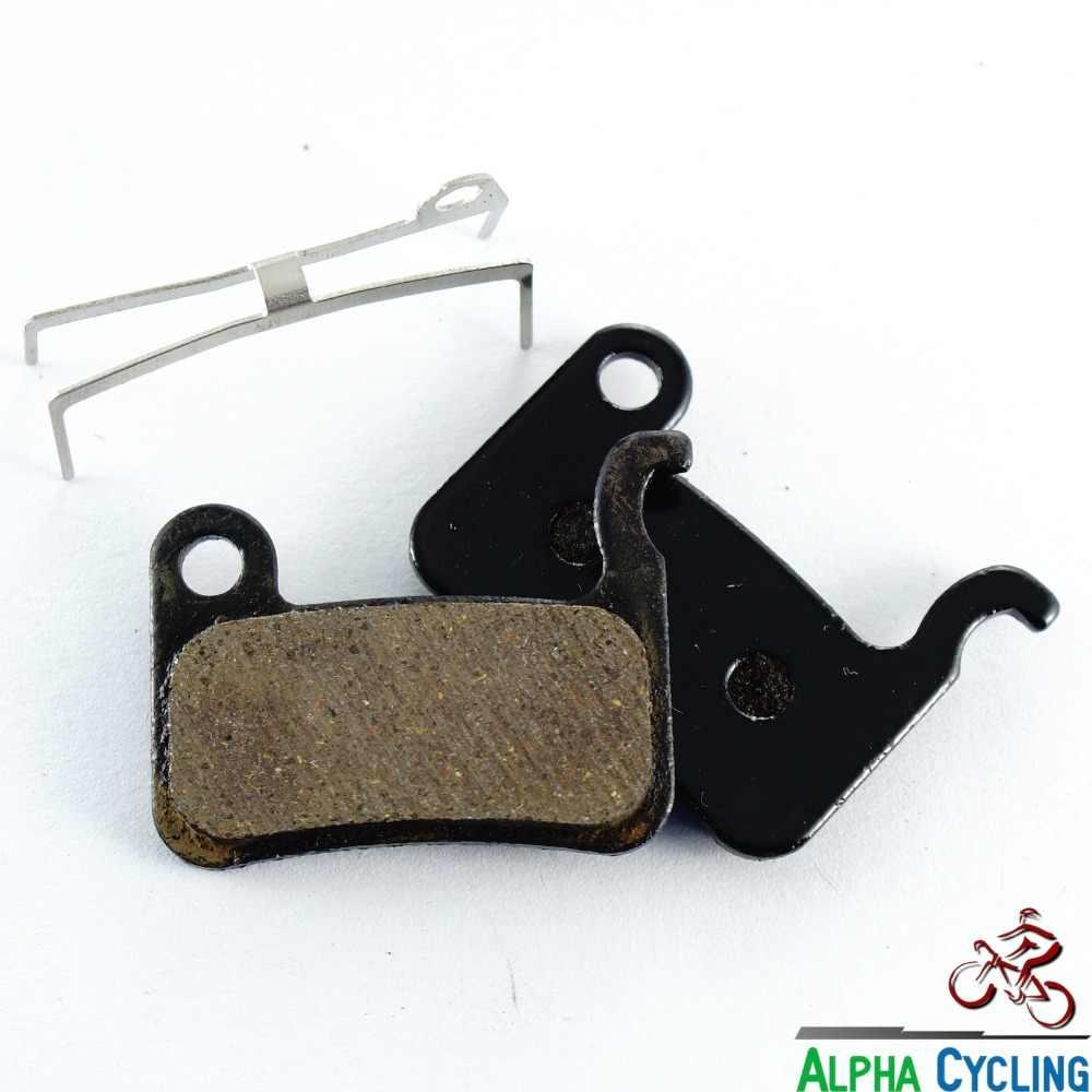 Mtb bicicleta disco pastilhas de freio para shimano deore m596/slx m665/m775/m765/m596 freio a disco, RESINA, 1 Pr Modelo BB
