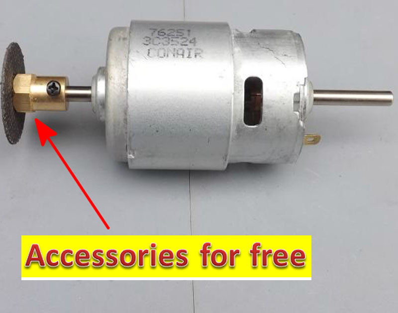 Accessories For Free 775dc Permanent Magnet Motor Dc