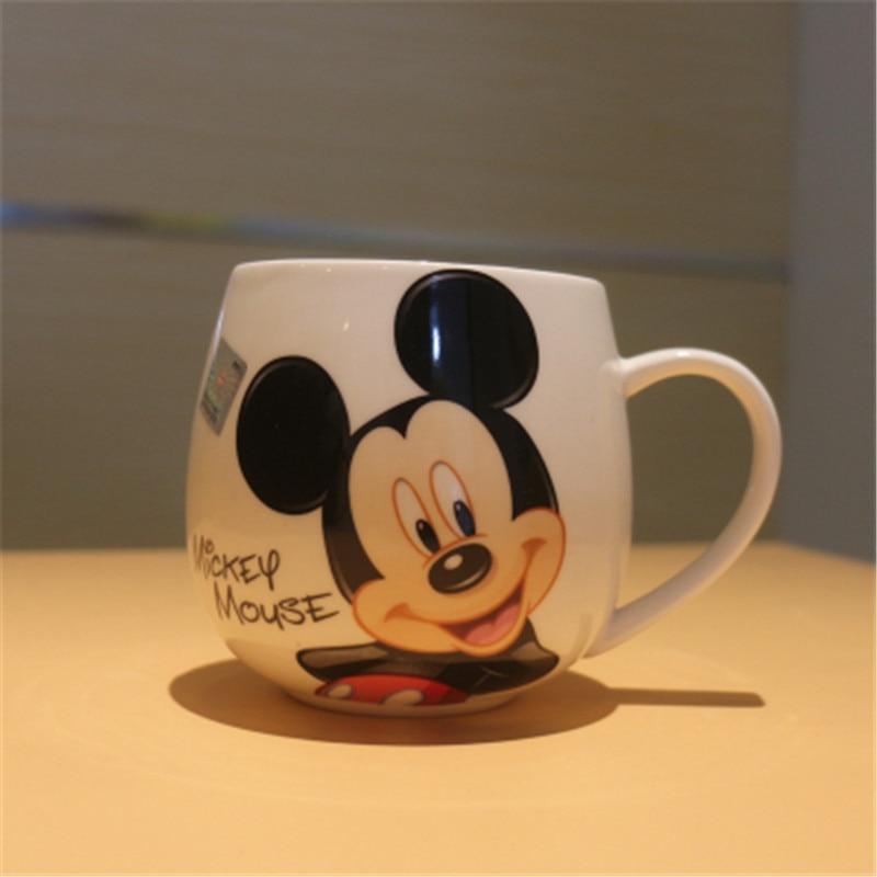 Caneca Dos Desenhos Animados Bonito Mickey Minnie Copos De