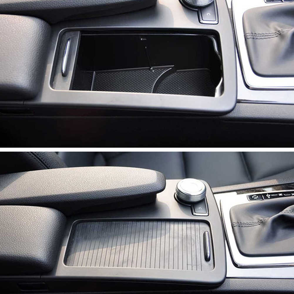 Centre Console Decorative Roller Blind Easy Use Zipper Cover Auto Parts Replacement Flexible Car Inner For Mercedes C Calss W204