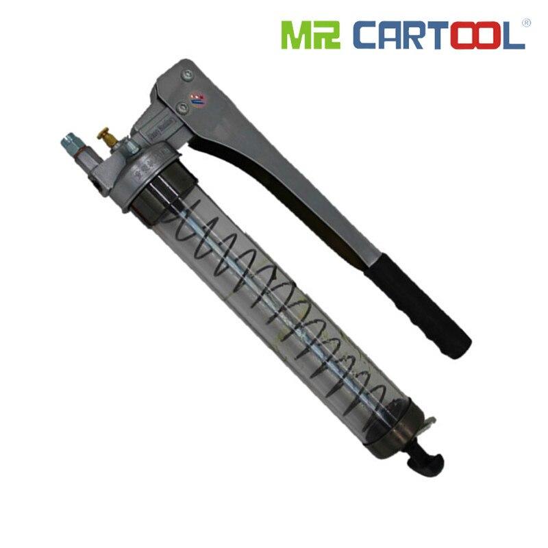 Injecteur d'huile manuel de tige de Transmission de pistolet à graisse de haute transparence de MR CARTOOL 600CC pour l'excavatrice de machines lourdes