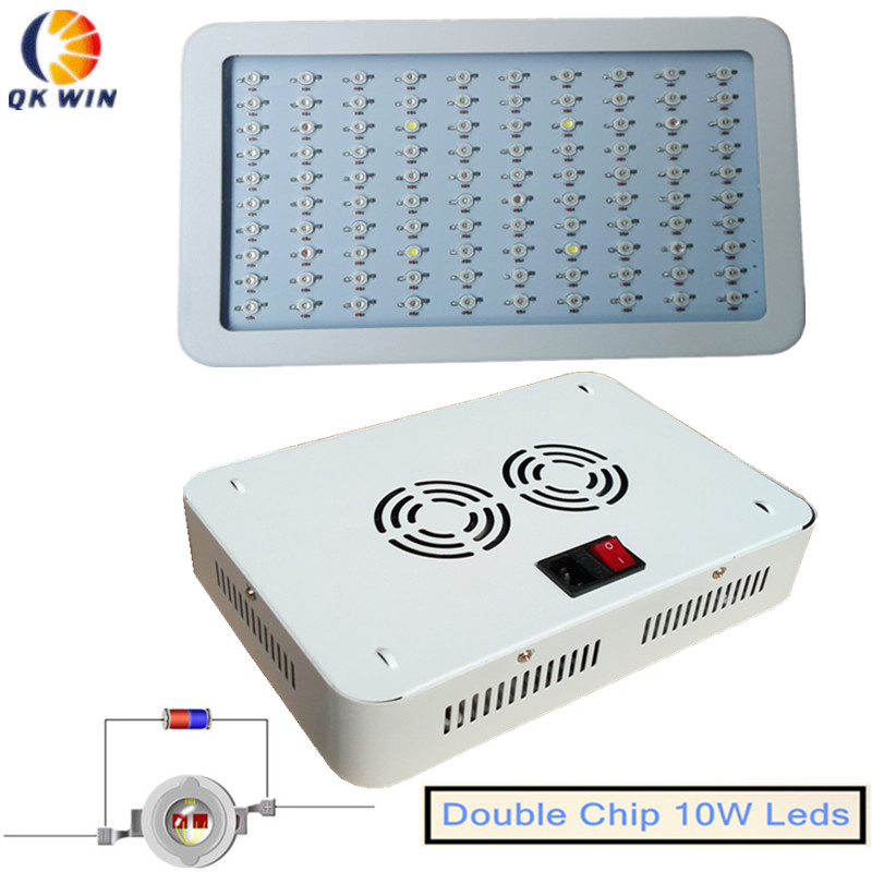 QKWIN 300W/600W/1000W/1600W LED Grow Light Full Spectrum LED Grow Lights For Indoor Plants Flowering And Growing купить
