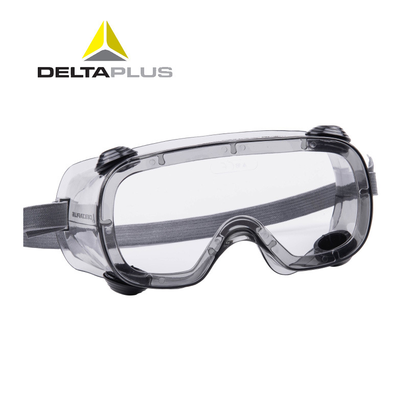 Deltaplus 101124 Protective Goggles Transparent Safety Glasses Anti-splash Anti-impact Industrial Dust Windproof Lab Eyewear outdoor sports safety glasses anti impact work protective airsoft goggles cycling eyewear 2103