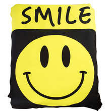 Cute Smile Emoji Bedding Sets Twin Queen King Size Duvet Cover Pillow Case Flat Sheet or Fitted Sheet Polyester Fabric Textiles