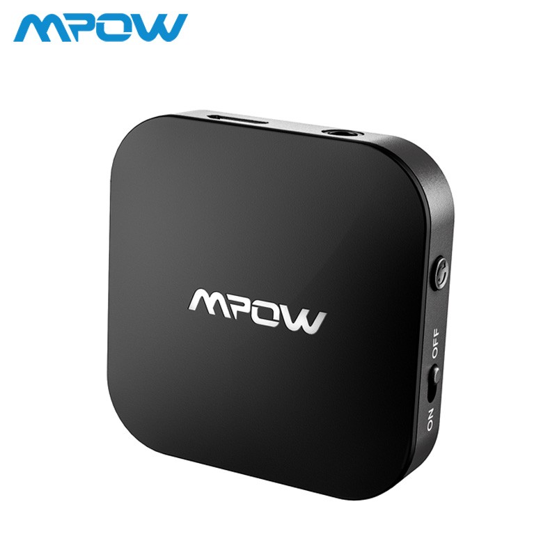 Mpow BH281 Bluetooth 5.0 Transmitter Aptx Low Latency Aptx Wireless Audio Adapter For Computer TV CD Player MP3 MP4 Headphones цена 2017